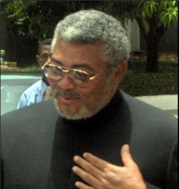 Former President Rawlings calls for calm